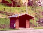 Účelové stavby - Autobusová zastávka - detail